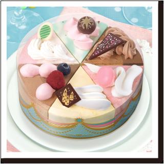 サーティワン アイスクリーム ケーキ パレット6 パーティ