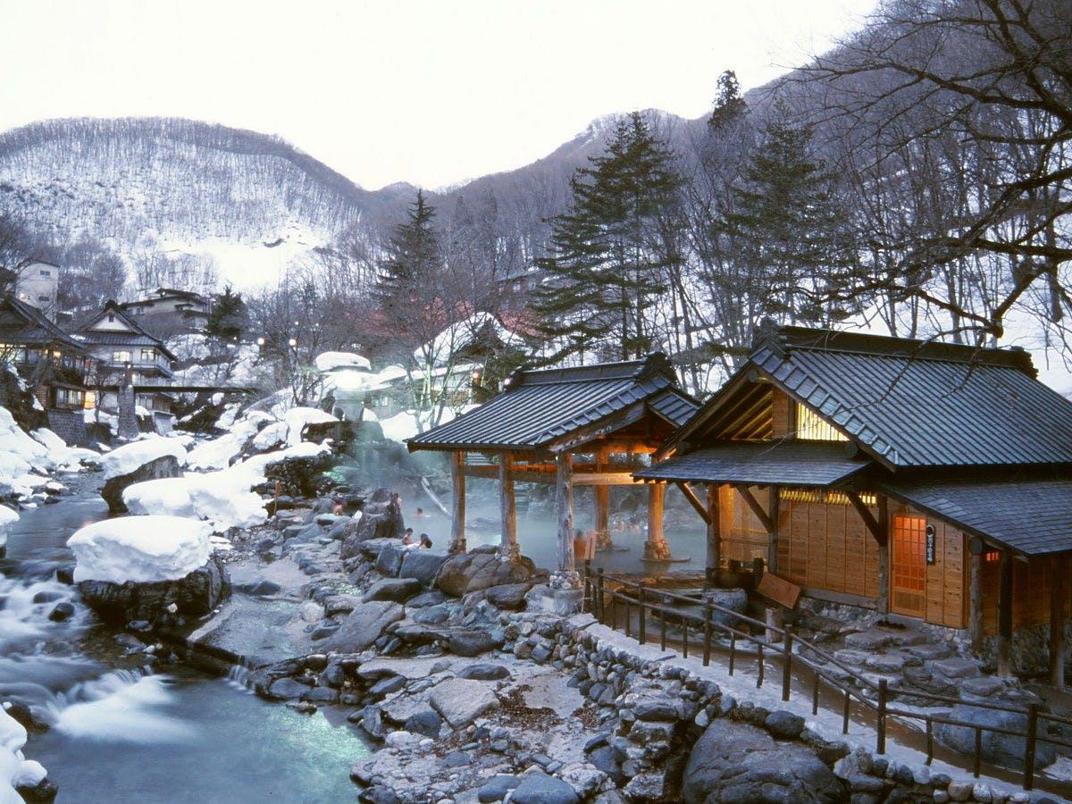 ヒルナンデス 雪景色が美しすぎる温泉宿ベスト8 関東甲信越