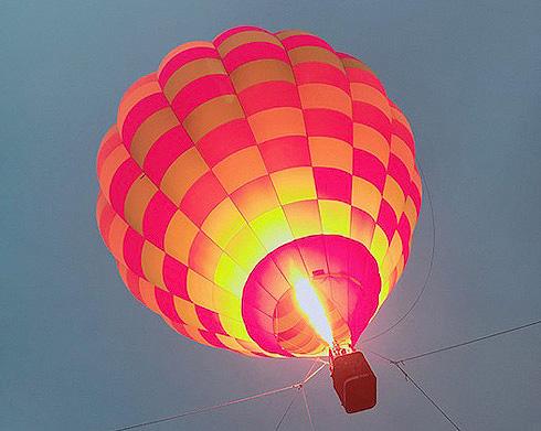 さがみ湖リゾートプレジャーフォレスト 気球