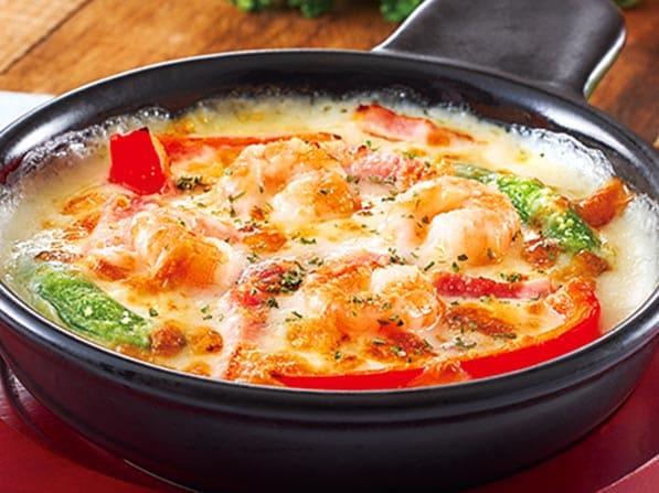 ガスト 海老と野菜のクリーミードリア