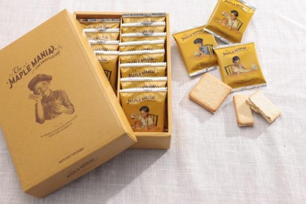 メープルマニア メープルバタークッキー
