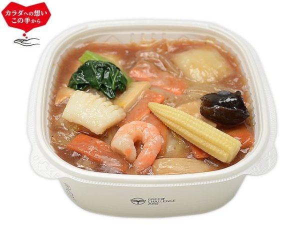 1/2日分の野菜!9種具材の海鮮中華丼