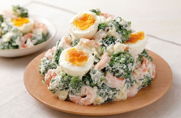 オリジン弁当 海老とブロッコリーのサラダ
