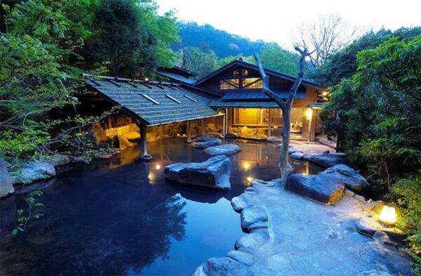 熊本県 黒川温泉 やまびこ旅館