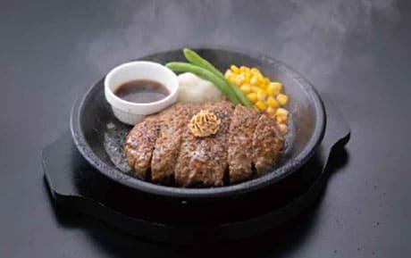ジョブチューン フードコート ペッパーランチ VS 超一流料理人 肉塊ハンバーグ